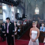 Corrie - wedding at St Mary's