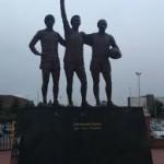 Man U - statues